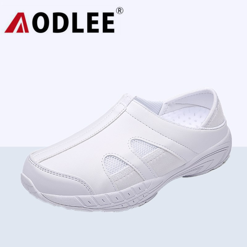 AODLEE Light Flat Shoes Women Platform Ladies Shoes Woman White Nursing Shoes Loafers Slip on Moccasins Women Flats Sneakers high quality women flats slip on fashion flower shoes loafers woman all match pedal autumn flat platform daily girls shoes hc82