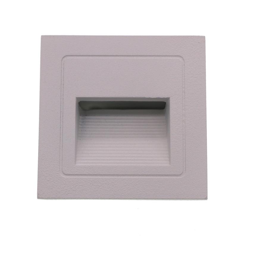 3W geleid trap licht met ingesloten box Aluminium Step Lights buiten - Buitenverlichting - Foto 2