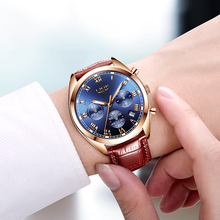 Luxury brand mens quartz watch LIGE9852
