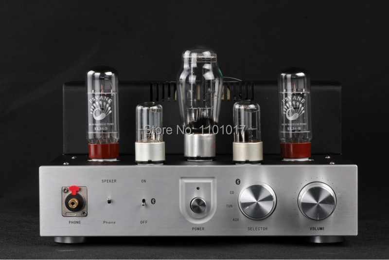 Himing RIVALS EL34 aluminum tube amplifier HIFI EXQUIS headphone output bluetooth handmade scaffolding panel RHEL34APB la figaro headphone amplifier tube amplifier 2013 upgrade version