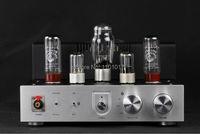 Himing RIVALS EL34 aluminum tube amplifier HIFI EXQUIS headphone output bluetooth handmade scaffolding panel RHEL34APB