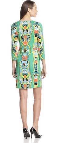 Dress Luxe Femmes 4 3 Xxl Gratuite Pop Manches Designer Jersey Livraison Vert 2014 Impression De Marques Nouveau Élastique Bwxt1Zqfn