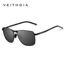 Męskie Okulary Przeciwsłoneczne z Polaryzacją UV400 VEITHDA Slim