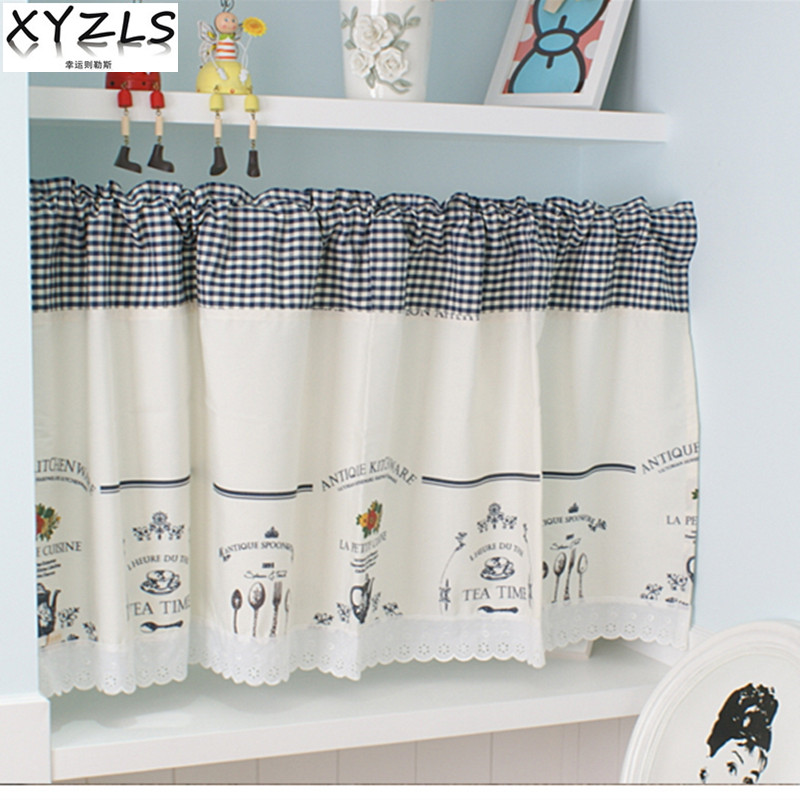 Elegant Kitchen Curtains Valances: XYZLS Modern Elegant Minimalist Blinds Kitchen Curtain