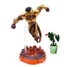 615 cm Anime Dragon Ball Z Frieza PVC Action Figure DBZ Gold Freeza Doll Collectible Model Toy Christmas Gift