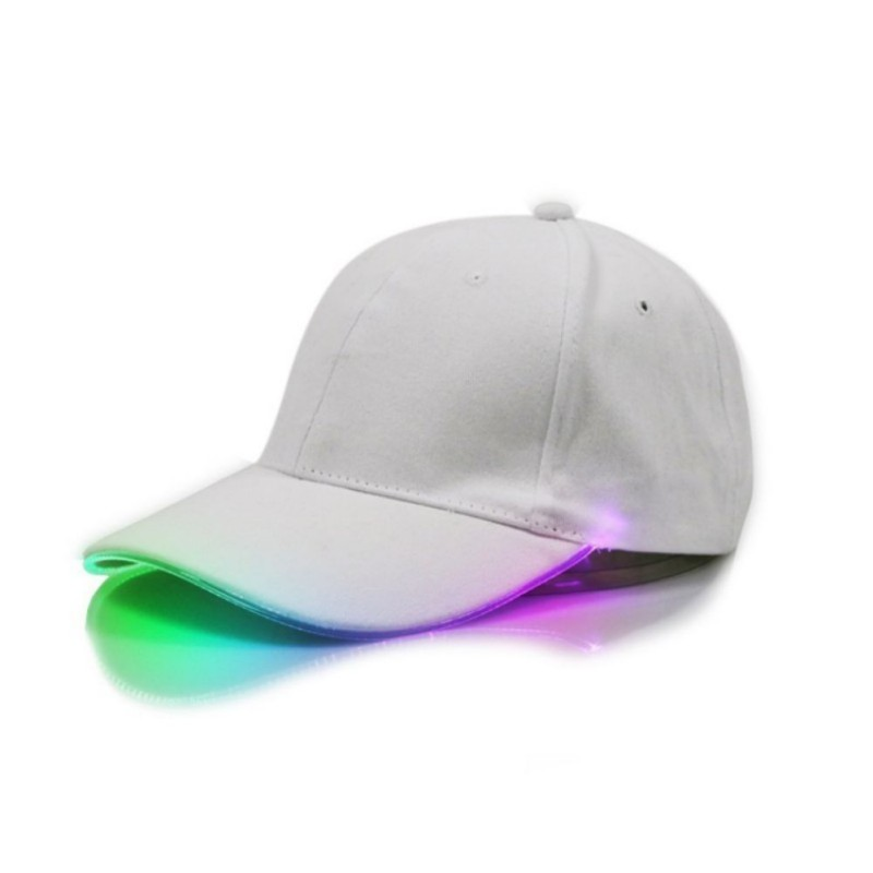 Glowing Adjustable Party Baseball Caps 22