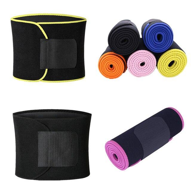 Body Shapers Belts Men's Waist Trimmer Slimming Belt Corsets Slim Girdle Modeling Strap Abdomen Fat Burning Tummy Trainer