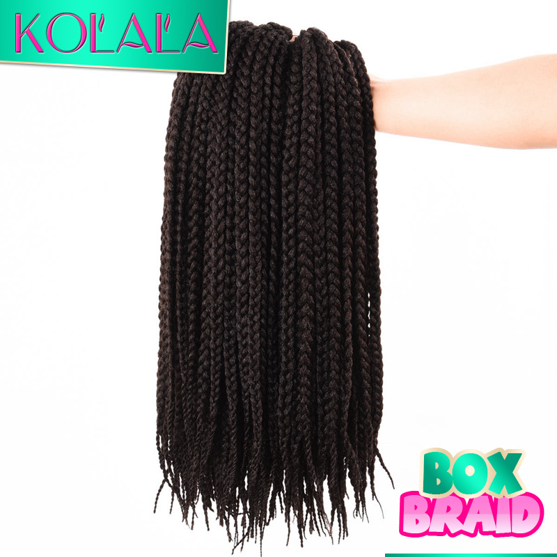 Crochet Micro Box Braids :  Micro Box Braids Crochet Braid Hair Senegalese Twist Cool Black BOX ...