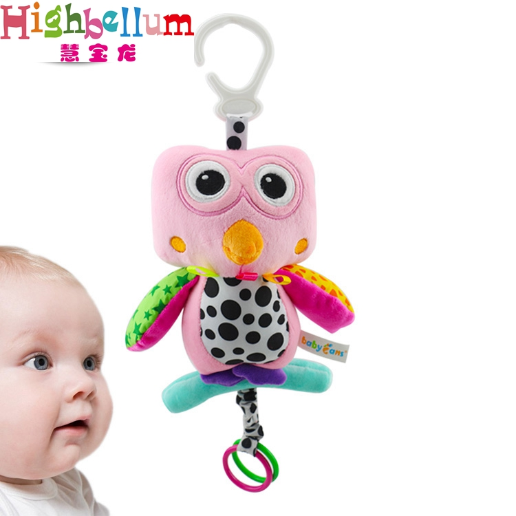 Baby Kids Plush Rattle Toys Կրթական Երաժշտական - Խաղալիքներ նորածինների համար - Լուսանկար 2