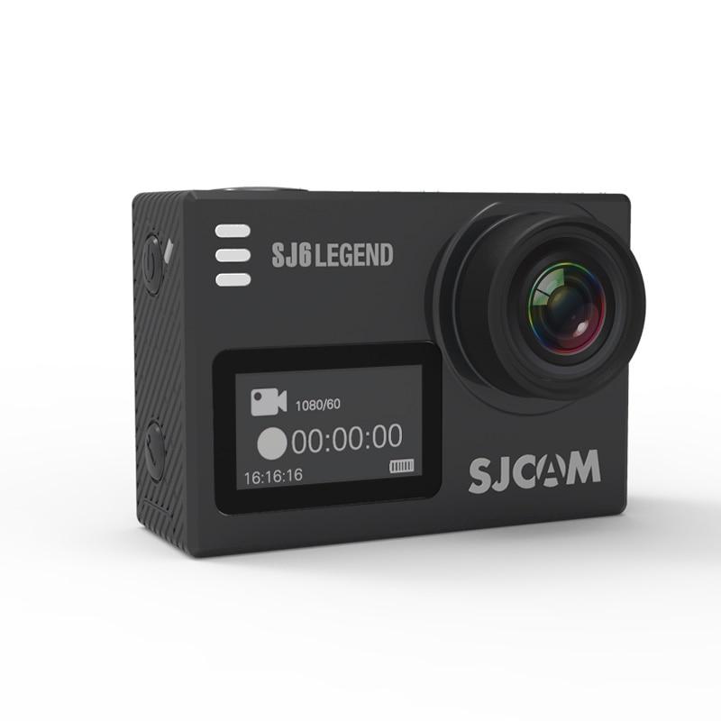Original SJCAM SJ6 LEGEND 4K 24fps 2.0 Touch Screen Remote Ultra HD Notavek 96660 30M Waterproof Spor Action Camera for Car DVR sjcam sj6 legend wifi action camera notavek 96660 ultra hd 4k 24fps 1080p waterproof 2 0 touch screen remote sports dv kamera