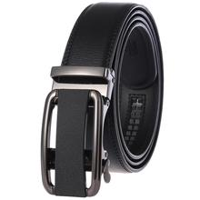 Good Quality Business Male Coffee Belts 2019 Fashion Designer Real Leather Belt Newest Automatic Buckle Men Black Belt hot sale business male black belts famous brand popular leather belt newest automatic buckle designer men black belt 2019