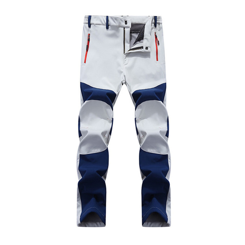 New Winter Autumn Men's SoftShell Fleece Pans Fashion Casual Warm Men High Quality Windproof Pants 805