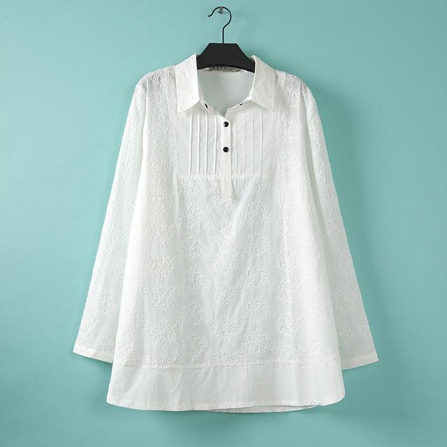 Topos de 2016 mulheres blusas roupas traje para mulheres tamanhos grandes túnica mulheres tamanho grande verão