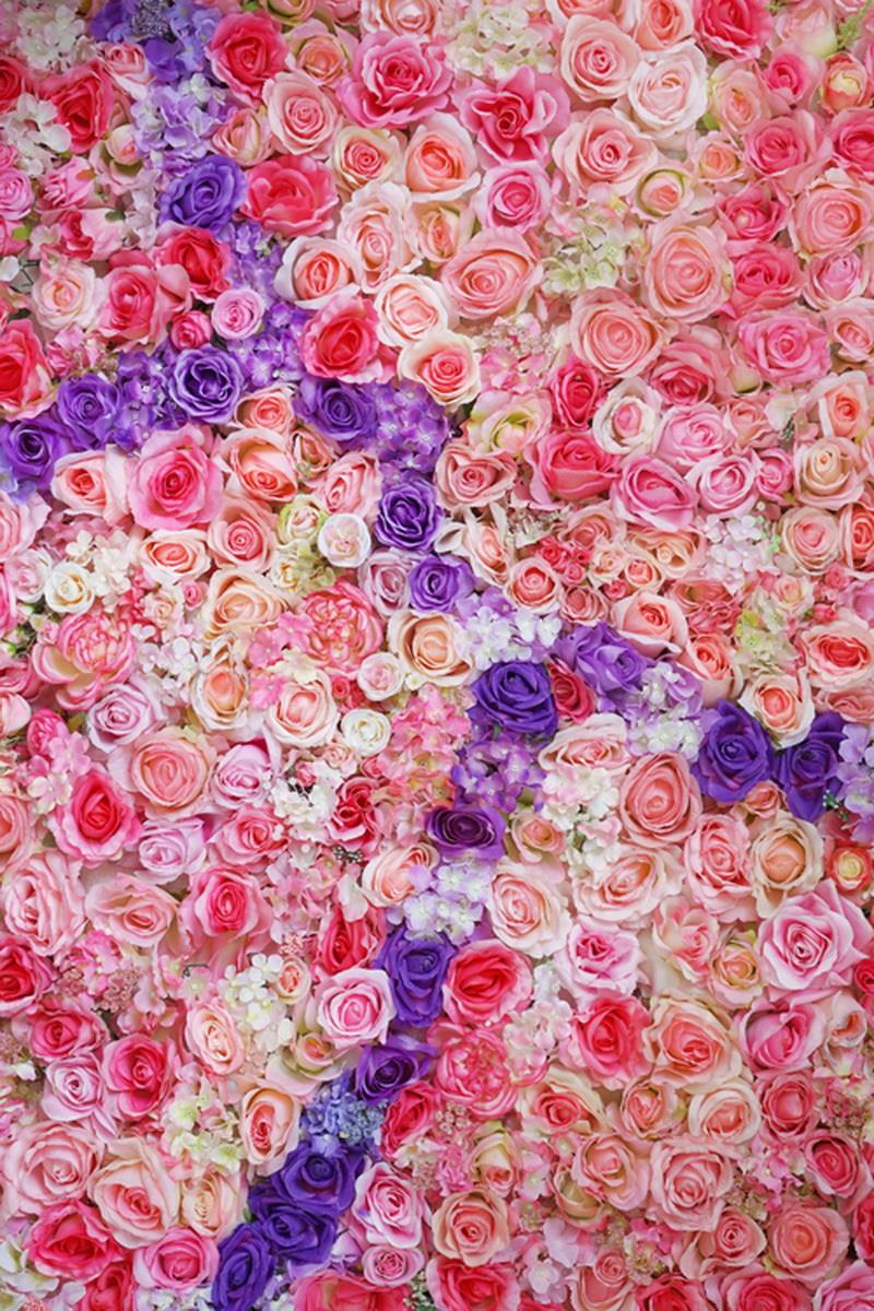 ᗐ5x7ft Valentine\'s Day Photography bed of rose ArtFabric Backdrop D ...