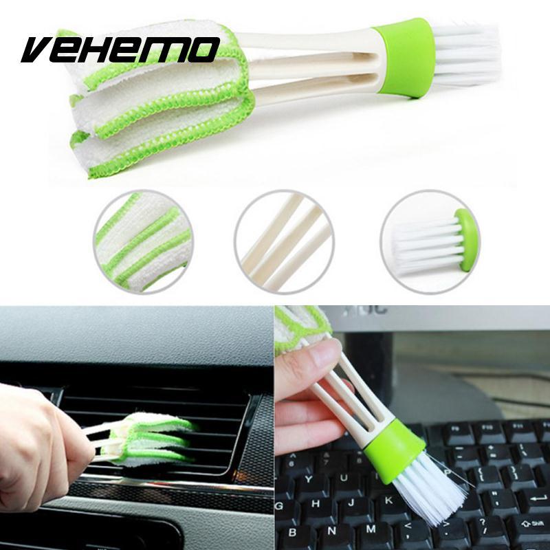 Автомобильные Dashboard Vent Cleaner Клавиатура Air выход щетка для очистки