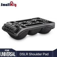 SmallRig DSLR Universal Shoulder Pad With Comfortable Memory Foam 1 4 3 8 Thread Hole DIY
