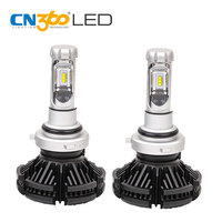 CN360 2PCS X3 H16 HB4 LED ZES Chip Auto Headlamp Headlight 3000K 6000 8000K Waterproof All