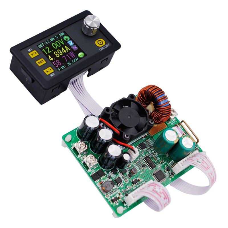 DPS5015 LCD Voltmètre ampèremètre 0 V-50 V 0-15A Tension Constante de Courant Programmable Module D'alimentation 15%