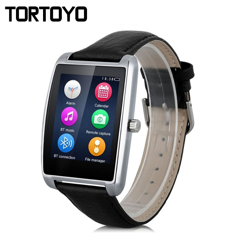 L11 Smart Watch Bluetooh Sports Tracker Heart Rate Monitor Smartwatch Passometer Leather Strap Wristwatch for Android IOS PK U8 cмарт часы smart watch u8 для ios и android скидка до 83%
