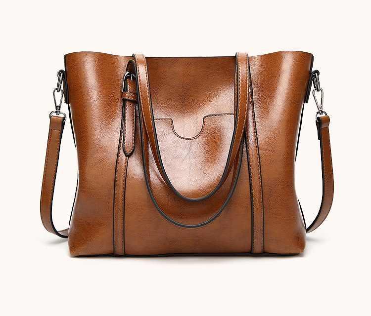 Женские кожаные сумки, дизайнерские сумки-мессенджер через плечо, женская сумка-тоут, сумки на плечо с верхними ручками, винтажные Ретро Сумки N421