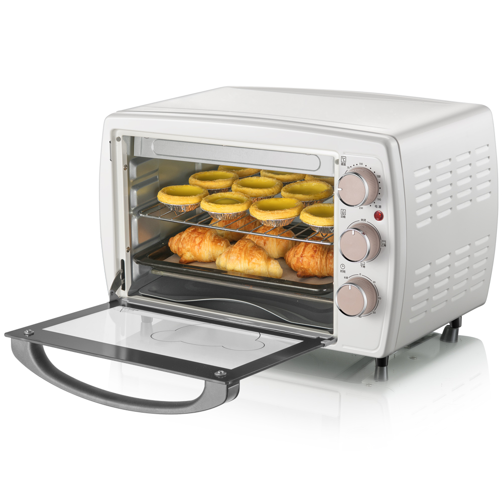 220V 20L Automatic Electric Oven Household Multifunctional Cake Pizza Baking Oven Furnace Machine Easy Operation EU/AU/UK