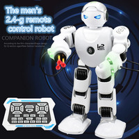 educational toy remote control robot X men Alpha Intelligent RC Robot Multifuction education toy model sing dance story kid gift
