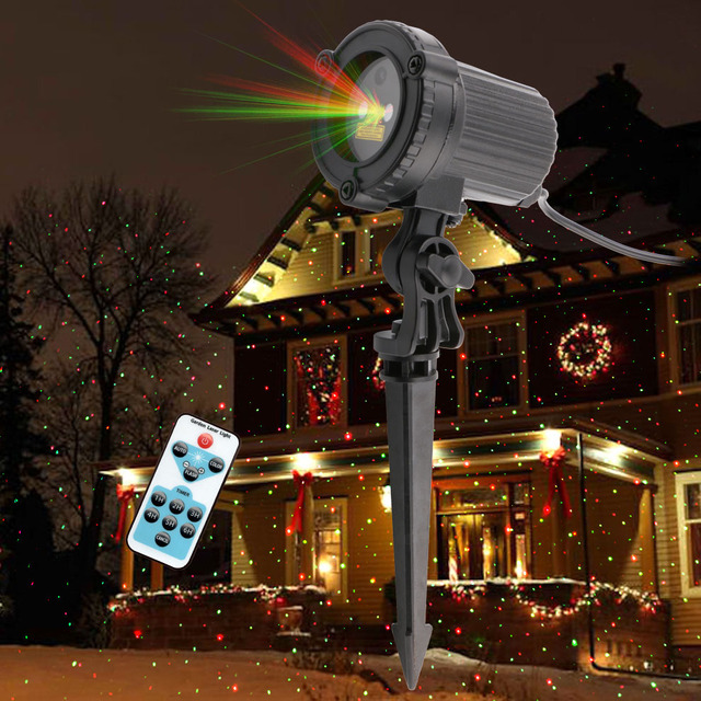 rg laser christmas lights static dots best xmas laser light show as tv seen outdoor laser