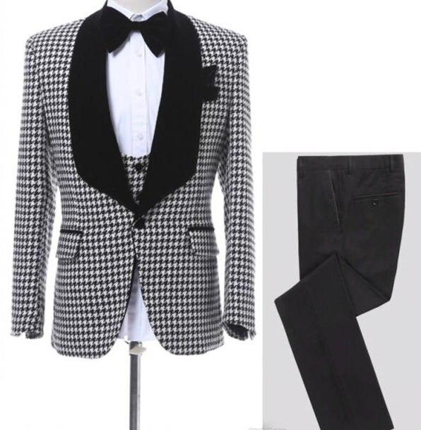 Customize-Houndstooth-Groom-Tuxedos-Shawl-Lapel-One-Button-Side-Vent-Men-Wedding-Blazer-Men-Prom-Dinner.jpg_640x640