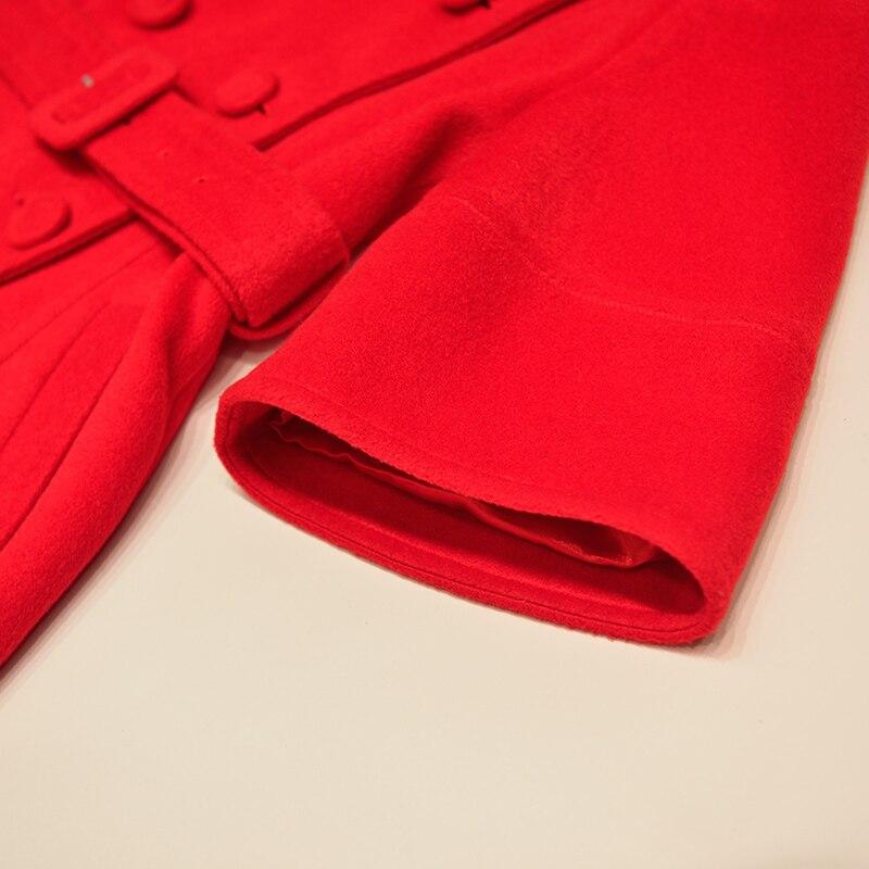 Mode Abrigo Casual Manteaux Mujer Tempérament En Manteau La Style Long 2018 Gros Britannique New See Chart À Laine Sobretudo Automne Hiver Femmes 74d7qOwga