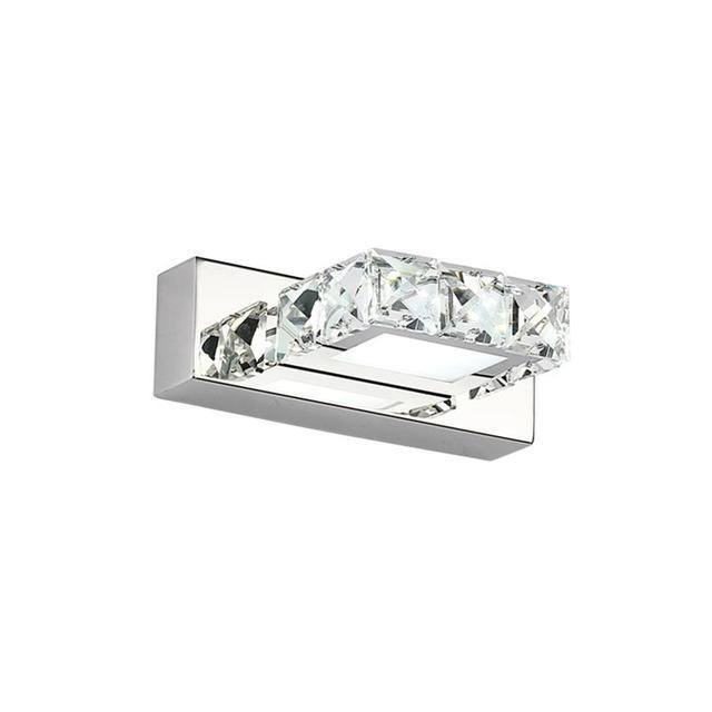 Carré K9 6W cristal salle de bain luminaires Led bain vanité appliques murales lumière chambre couloir applique rétro intérieur applique