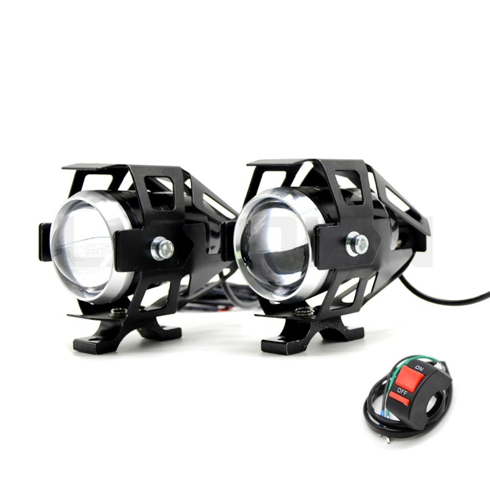 2PCS 125W Motorcycle Headlights Auxiliary Lamp U5 Led Motorbike Spotlight Accessories 12V Moto DRL Spot Head Lights2PCS 125W Motorcycle Headlights Auxiliary Lamp U5 Led Motorbike Spotlight Accessories 12V Moto DRL Spot Head Lights