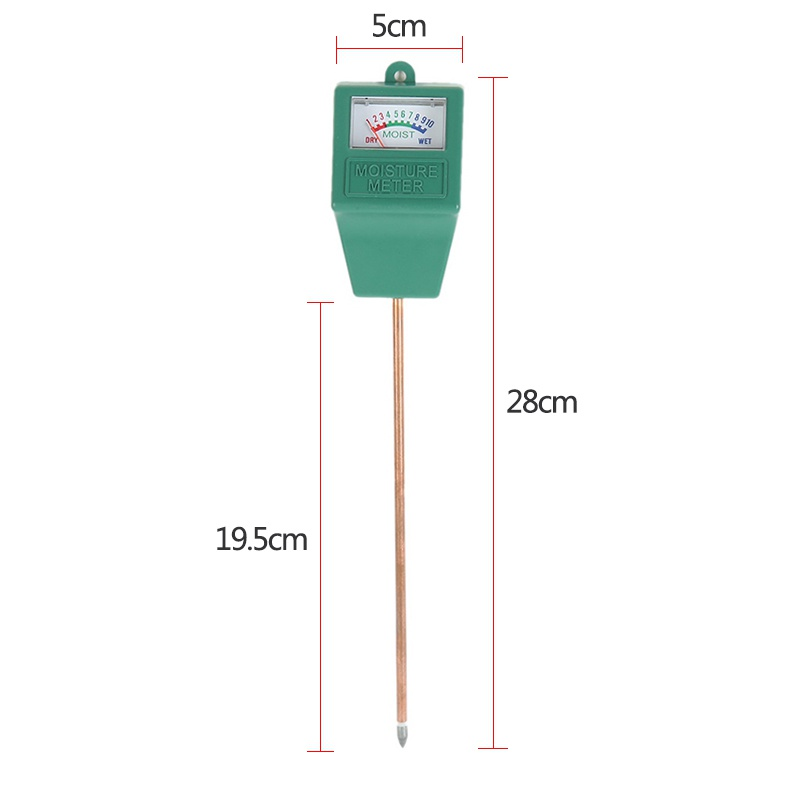2017 Hot Portable Outdoor Tools 3 In 1 PH Tester Soil Water Moisture Light Test Meter For Outdoor Plant Flower