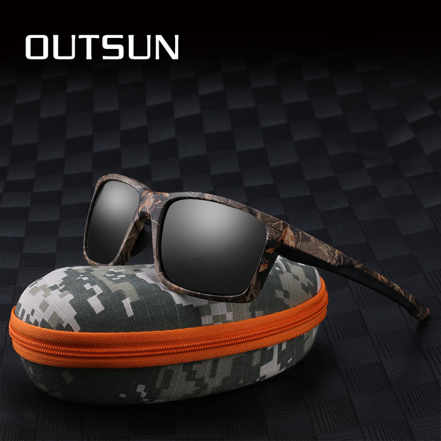 Lente Polarizada Óculos De Sol Do Esporte Das Mulheres Dos Homens Óculos De  Pesca OUTSUN TR90 399aab9dad
