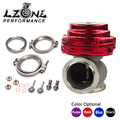 LZONE RACING-MVS MV-S TURBO WASTEGATE 38mm WASTEGATE CON V-BAND Y BRIDAS CON LOGO JR5831