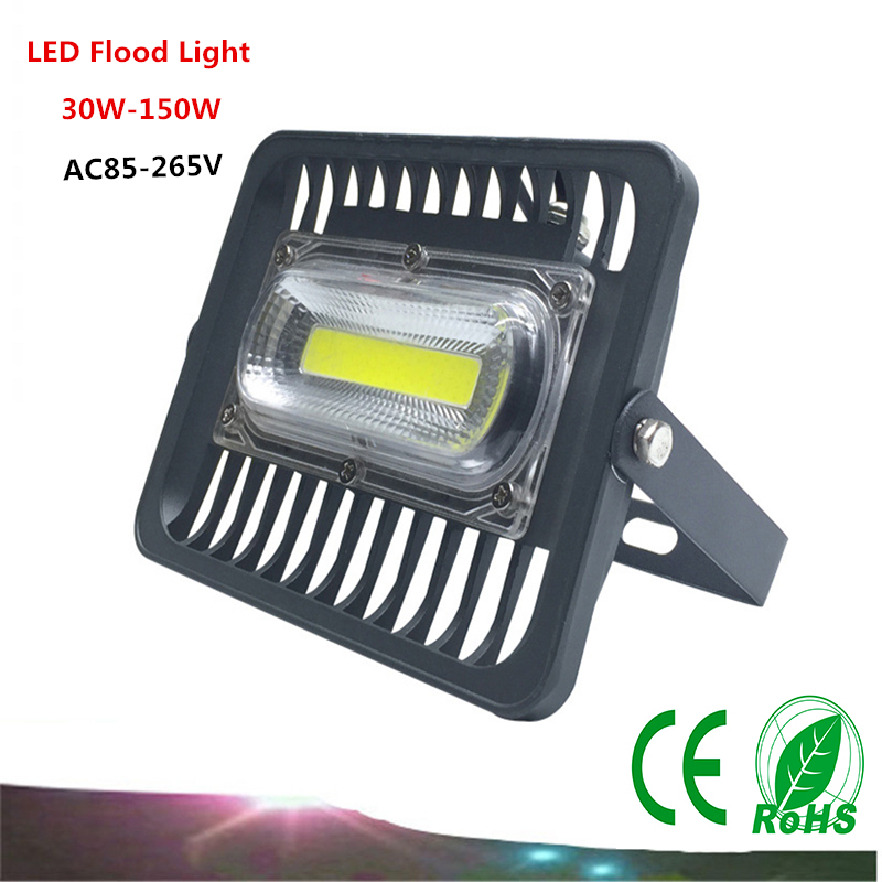 1PCS LED Flood Light AC85-265V 30W/50W/100W  COB Flood Light  IP65 LED Waterproof Advertising Lamp Garden Square Lighting зимняя шина nokian hakkapeliitta 8 suv 265 50 r20 111t