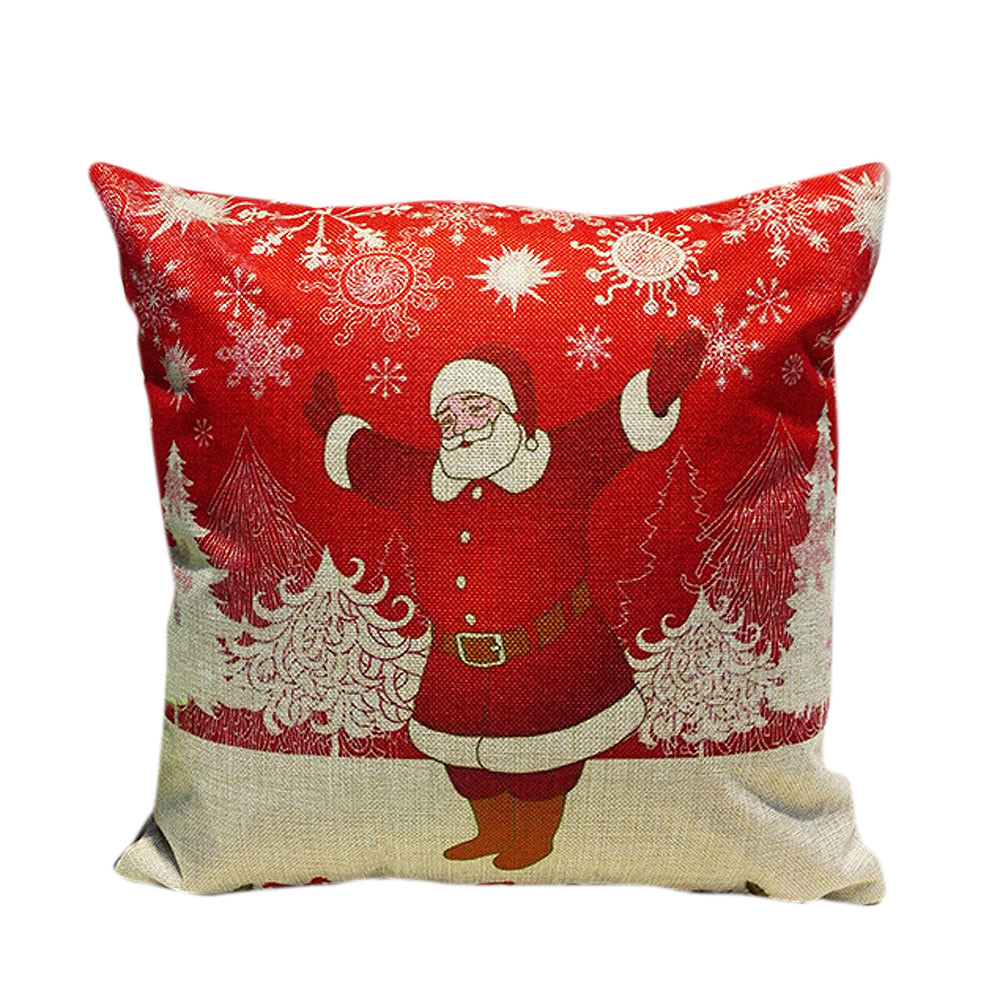 Car Seat Headrest Christmas Sofa Bed Home Decoration