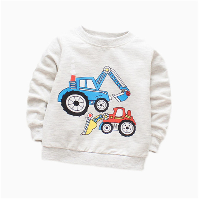 Baby Boy Printed Cotton Sweatshirt 2