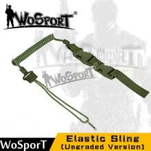 WOSPORT Cabestrillo Cinturón Táctico mochila cuerda Equipo de Airsoft Militar paintball Caza escalada del Rifle del Arma de actividades Al Aire Libre