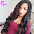 7A U Part Human Hair Wigs Body Wave Brazilian Virgin Hair U Part Wigs For Black Women Middle U Part Lace Wigs,Cheap Upart Wigs