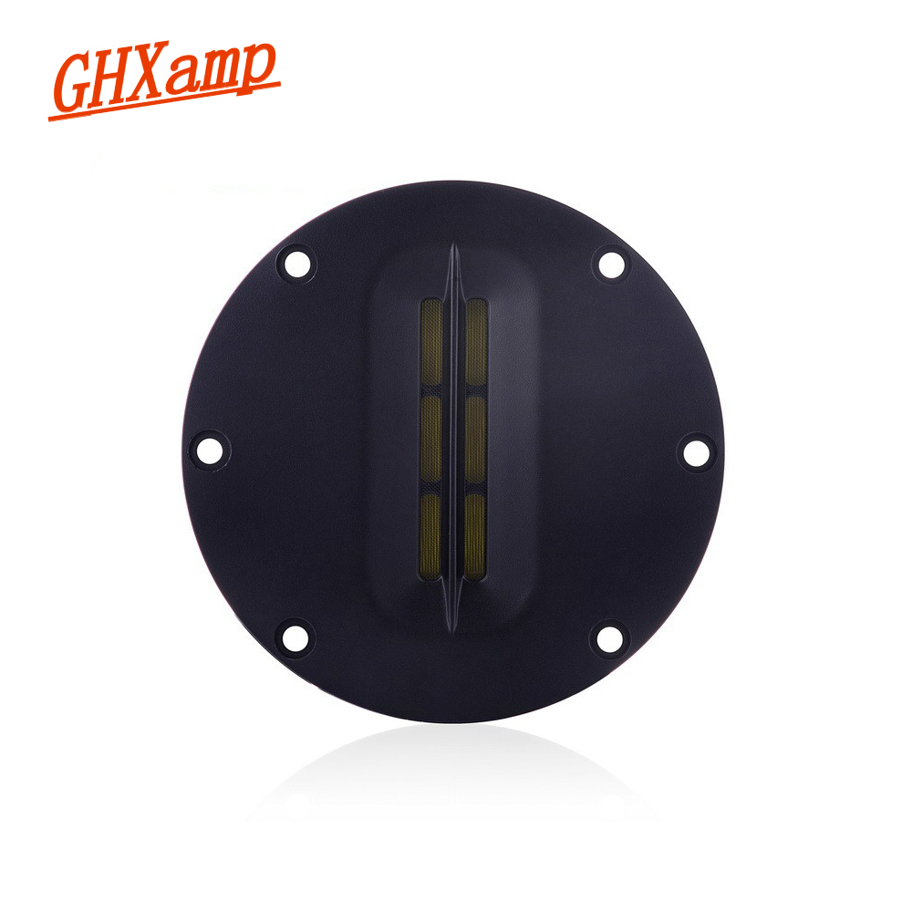 GHXAMP 4 INCH Portable Ribbon Tweeter Aluminum Belt Treble Diaphragm LoudSpeaker Ribbon Tweeter Soundboox DIY 8OHM