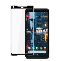 Pieno Della Copertura di Vetro Temperato Curvo Per Google Pixel 2 XL Protezione Dello Schermo pellicola protettiva Per Google Pixel 2 XL 6 pollici in vetro