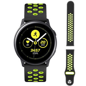 Watch-Strap Gear Active-Band Classic Quick-Release Sport 20mm Silicone Samsung for Galaxy