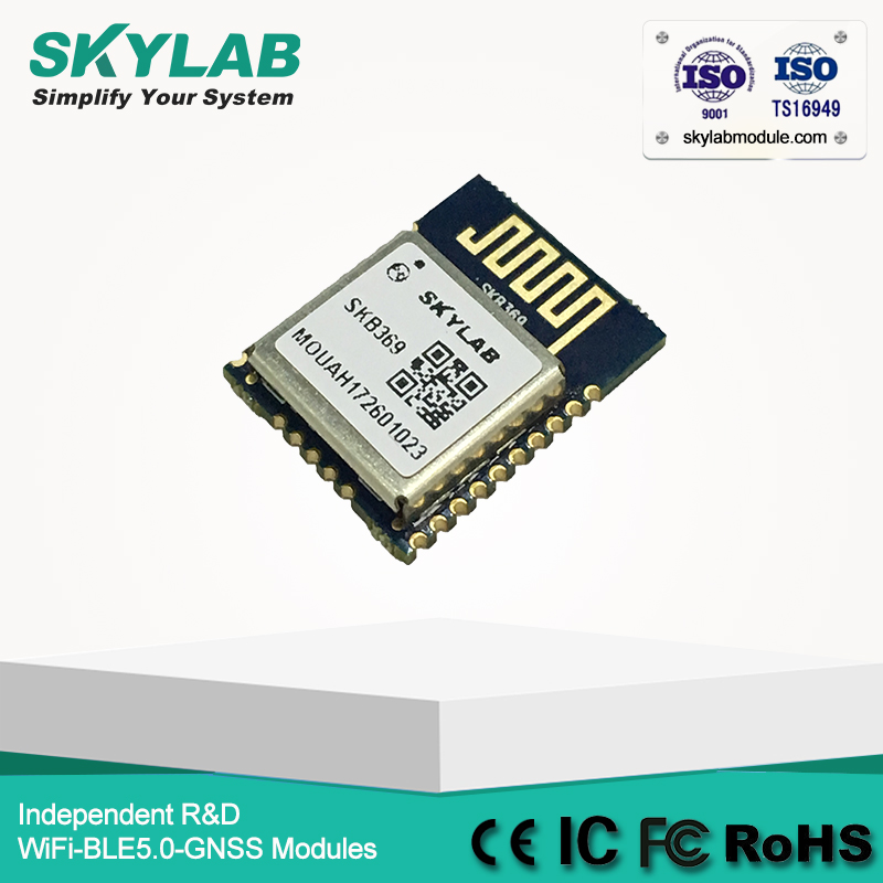US $5 0 |SKYLAB Smart SKB369 Nordic Multiprotocol ANT mesh network solution  Ble Bluetooth Low Energy 5 0 nRF52832 Module-in GPS Receiver & Antenna