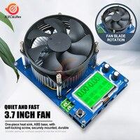 2,2 ''LCM 150 Вт 10A регулируемый постоянный ток электронный нагрузочный аккумулятор тестер вентилятор теплоотвод USB литиевый разрядный измерите...