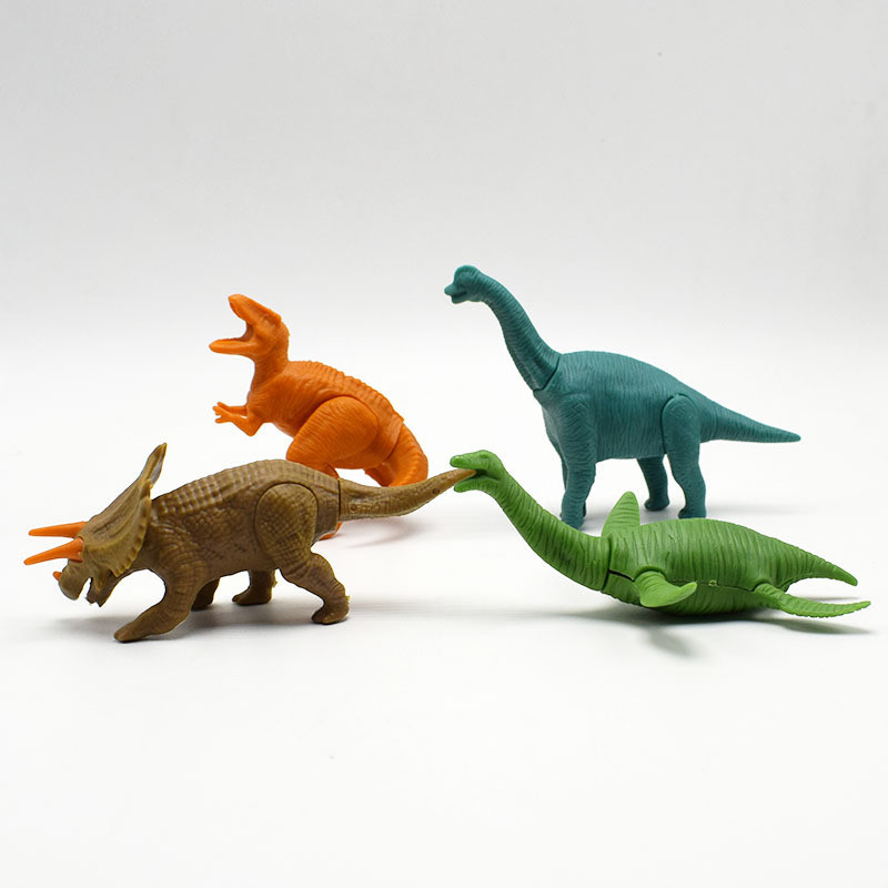 5pcs/lot Dinosaurs Elephant Lion Deer Wildlife Animal Building Blocks Mini Animal Model Kids Games Party Stage Property