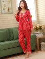faux silk Couple  Pajama Sets for men women female homewear lounge male pyjamas wedding nightgowns marriage pijamas nightwears