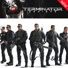 Free Shipping NECA The Terminator 2 Action Figure T-800 ENDOSKELETON Classic Figure Toy 7″18cm 7Styles Model For Gift