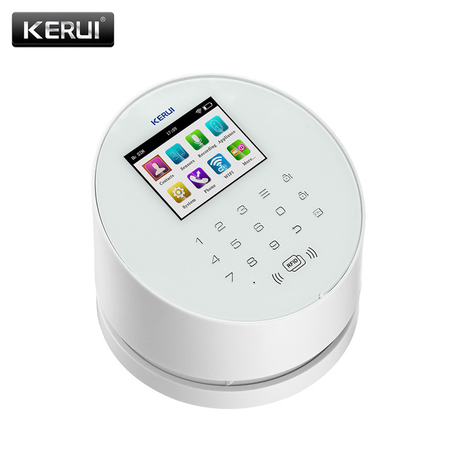KERUI W2  Wifi GSM Wireless alarm Panel IOS andorid APP PSTN line telephone RFID Disalarm Security Alarm 2
