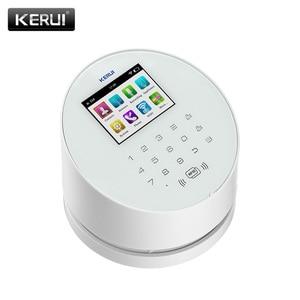 Image 2 - KERUI W2  Wifi GSM Wireless alarm Panel IOS andorid APP PSTN line telephone RFID Disalarm Security Alarm