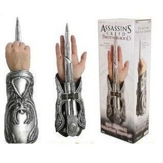 Creed Ezio Oculta Assassins Hoja Brotherhood Cosplay erdxCBo